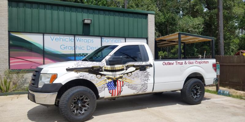 Decals Custom Signs Design The Woodlands - Truck decals custom