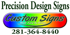 Custom Signs & Design | The Woodlands Sticky Logo